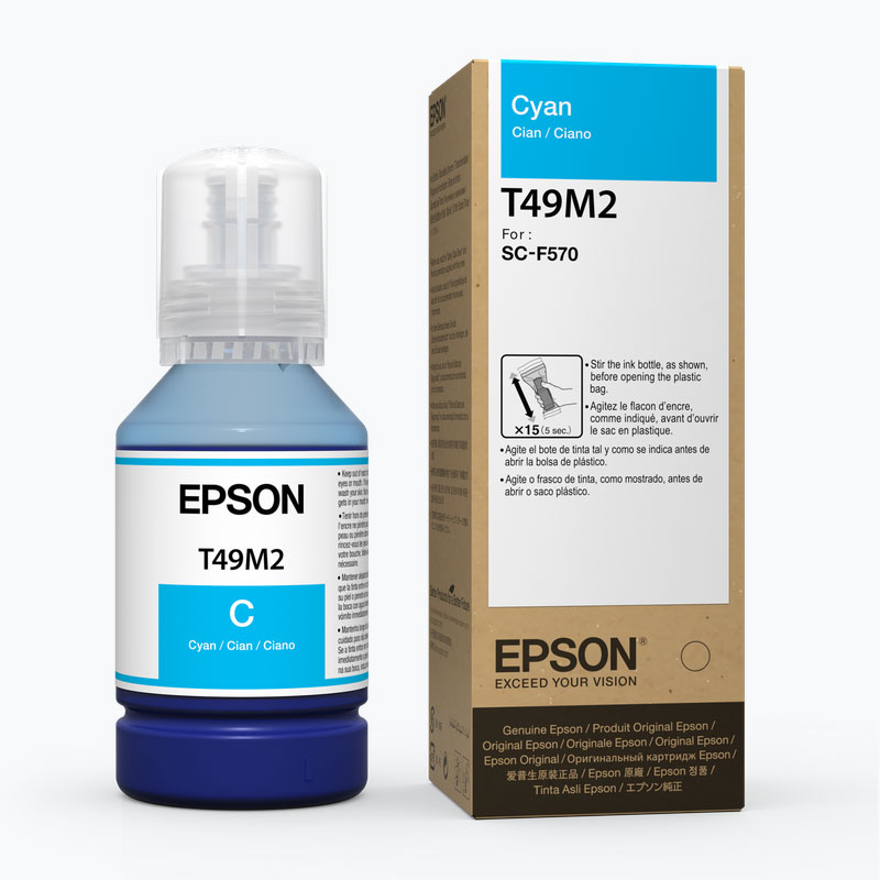 Epson® Dye-Sublimation Ink for F570 - Cyan - 142ml