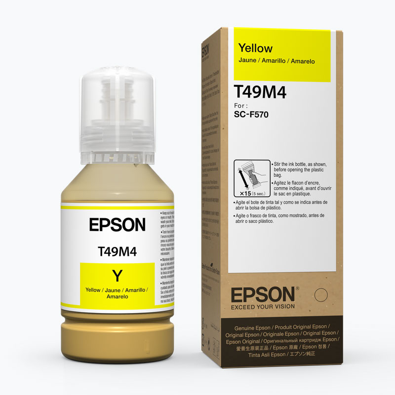 Epson® Dye-Sublimation Ink for F570 printer - Yellow - 142ml