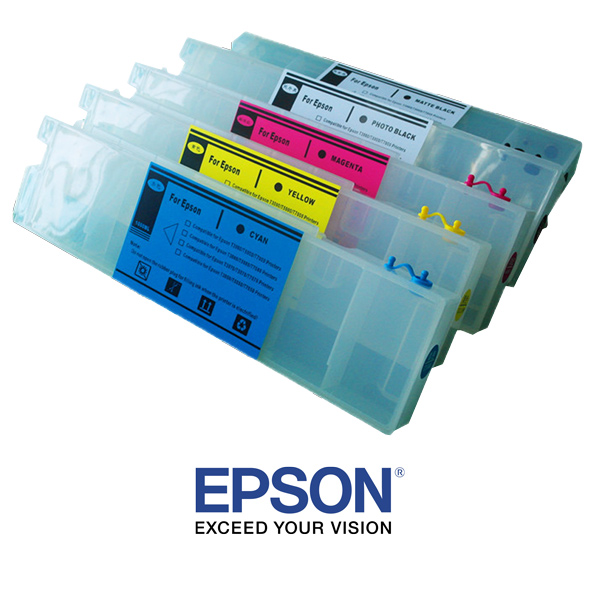 SCF2000 UltraChrome Epson 600ml Cartridge - Black
