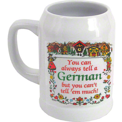 DyeTrans Sublimation Blank Ceramic Tankard - 22oz