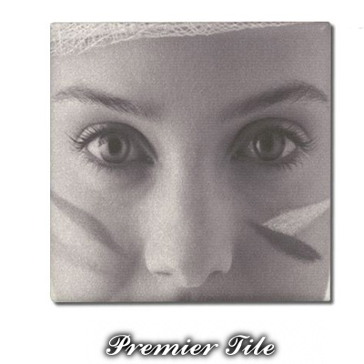8x8 Premiere™ Ceramic Matte WhiteSublimation  Tile