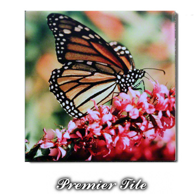8x8 Premiere™ Ceramic Satin White Sublimation Tile