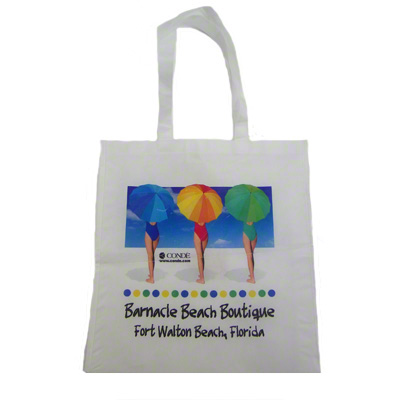 DyeTrans Sublimation Blank Polyester Tote Bag - 15