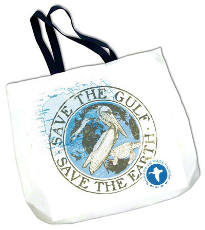 DyeTrans Black Strap White Tote Bag