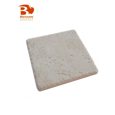 Bison 4x4 Satin Tuscan Tile