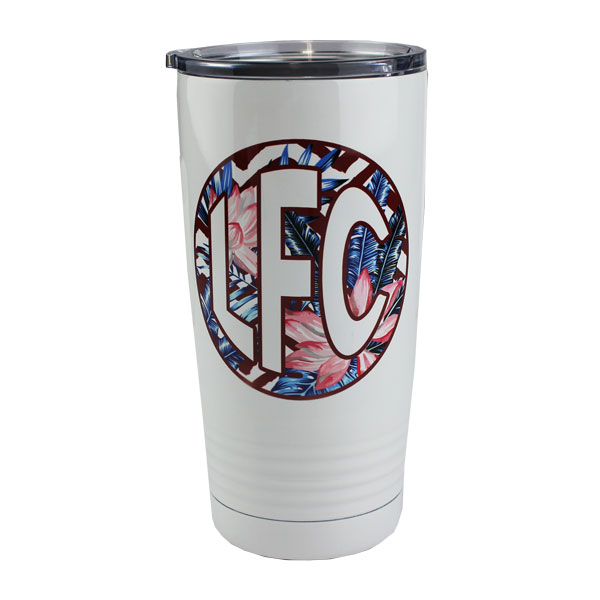 Luma Steel™ Sublimation Blank Stainless Steel Tumbler - 20oz - Ringed Base