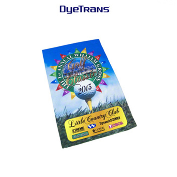 DyeTrans Sublimation Blank Low Pile Towel - 11x17.25