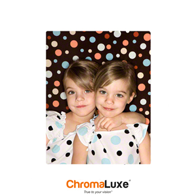 8x10 ChromaLuxe Photo Panel - Matte White