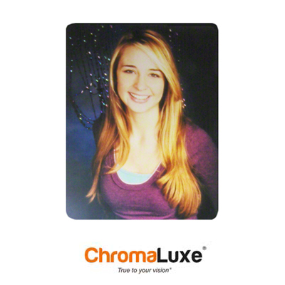 11x14 ChromaLuxe Photo Panels - Matte Clear