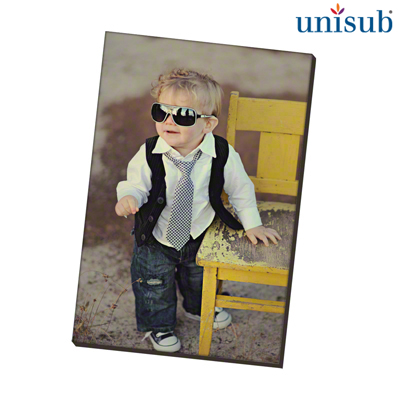 Unisub Sublimation Blank Hardboard Magnet - 2 x 3 - Rectangle