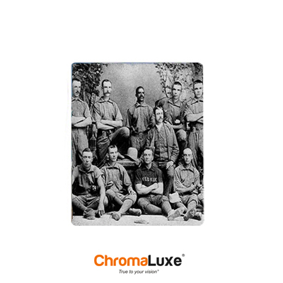 ChromaLuxe Sublimation Blank Aluminum Photo Panel - 5 x 7 - Matte Clear