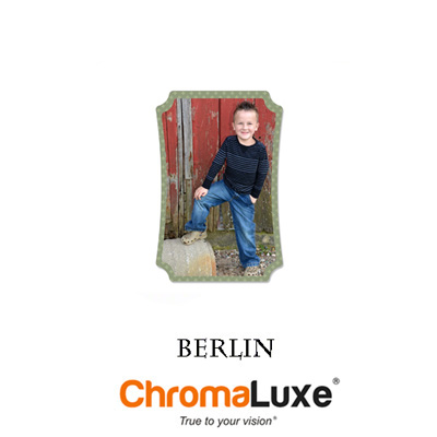 Small ChromoLuxe Aluminum Berlin Panel
