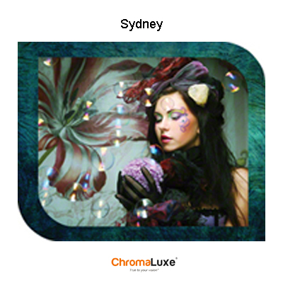 Large ChromaLuxe Aluminum Sydney Photo Panel