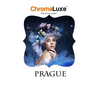 Small Prague ChromaLuxe Aluminum Photo Panel
