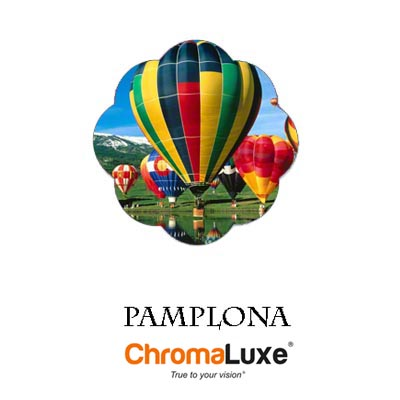 Medium Pamplona ChromaLuxe Aluminum Photo Panel