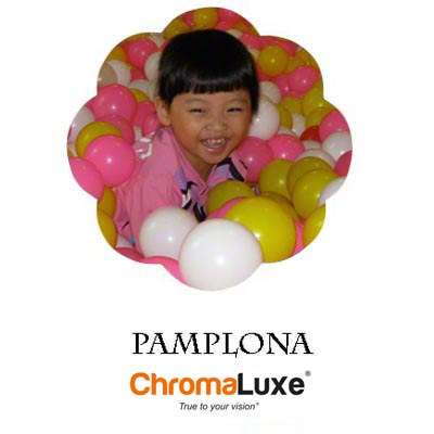 Large Pamplona ChromaLuxe Aluminum Photo Panel