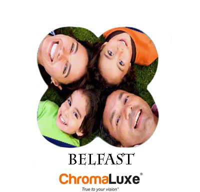 Belfast ChromaLuxe Aluminum Photo Panel