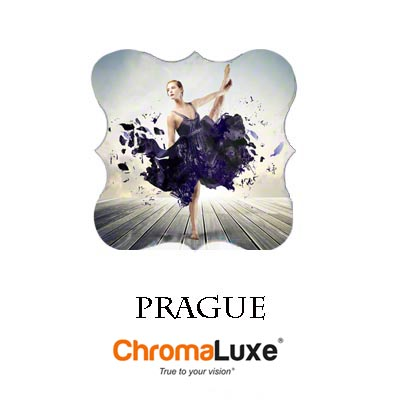 Medium Prague ChromaLuxe Aluminum Photo Panel