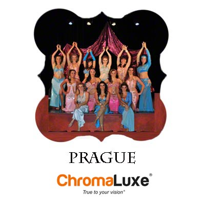 Large Prague ChromaLuxe Aluminum Photo Panel