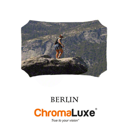 Medium Berlin ChromaLuxe Aluminum Photo Panel