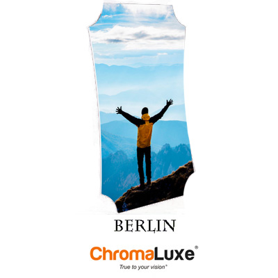 Large Berlin ChromaLuxe Aluminum Photo Panel