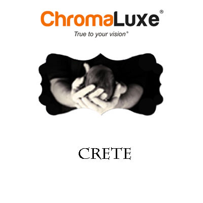 Crete - Small ChromaLuxe Aluminum Panel