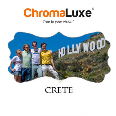 Crete - Large ChromaLuxe Aluminum Photo Panel