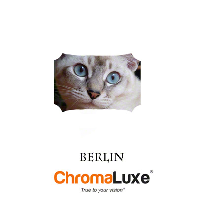 Berlin ChromaLuxe Hardboard Photo Panel