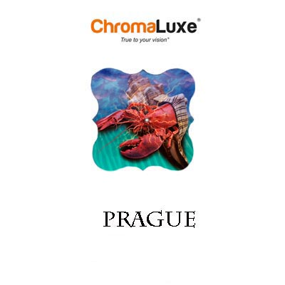 Prague ChromaLuxe Hardboard Photo Panel