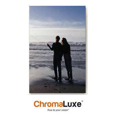 ChromaLuxe Sublimation Blank Aluminum Photo Panel - 12 x 24 - Matte Clear