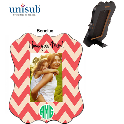 Unisub Sublimation Blank MDF Picture Frame - Benelux Creative Border 8