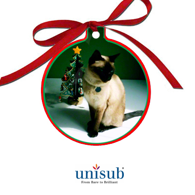 Unisub® Sublimation Blank Aluminum Ornament - 3