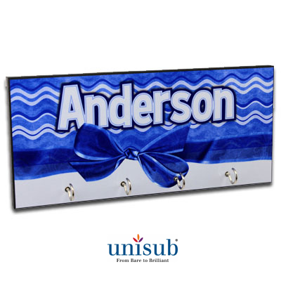 Unisub Sublimation Blank MDF Key Hanger - 5