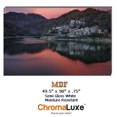 ChromaLuxe  Sublimation Blank Moisture Resistant MDF Sheet Stock - 49