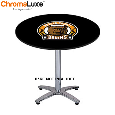 ChromaLuxe Semi Gloss TableTop - Sm Round