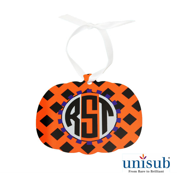 Unisub Sublimation Blank Aluminum Ornament - 3.45