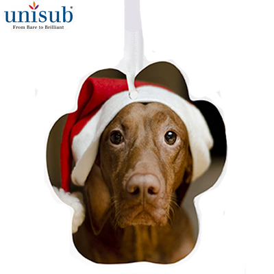 Unisub Sublimation Blank Aluminum Ornament - 3.59