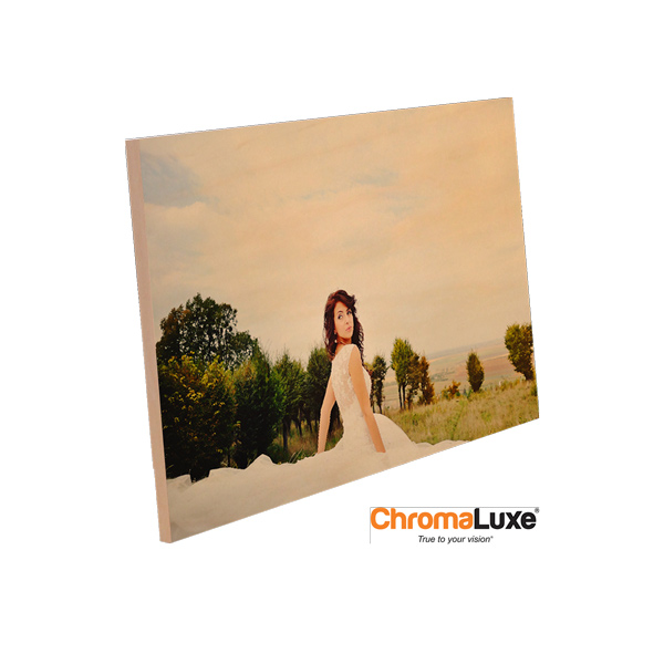 ChromaLuxe Sublimation Blank Natural Wood Photo Panel - 48