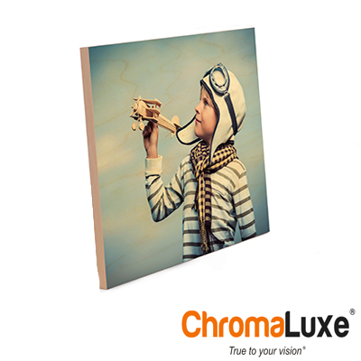 ChromaLuxe 8x10 Maple Natural Wood Panel