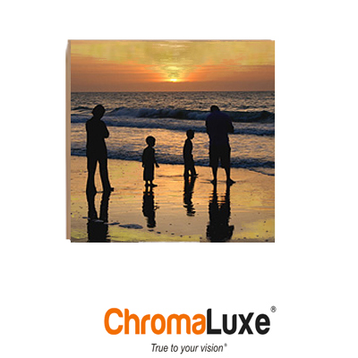 ChromaLuxe Sublimation Blank Natural Wood Photo Panel - 10
