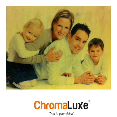 ChromaLuxe Sublimation Blank Natural Wood Photo Panel - 20