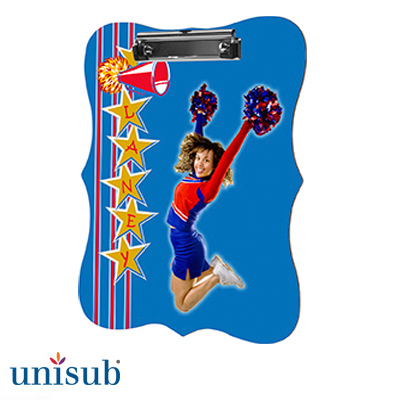 Benelux Shape Unisub™  2-Sided Hardboard Clipboard