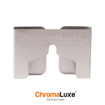 ChromaLuxe® Hanging Mount - Brushed Silver - 20 pk