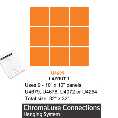 ChromaLuxe Connections Layout #1 - 5 Templates
