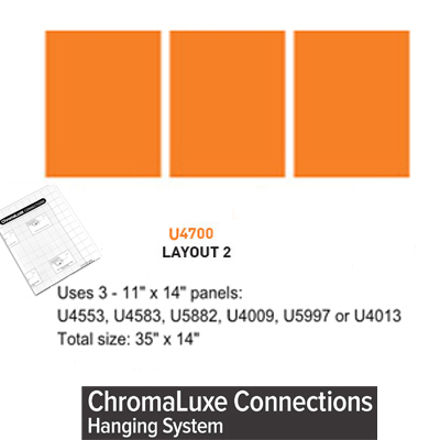 ChromaLuxe Connections Layout #2 - 5 Templates