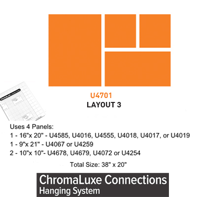 ChromaLuxe Connections Layout #3 - 5 Templates