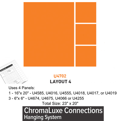 ChromaLuxe Connections Layout #4 - 5 Templates
