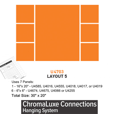 ChromaLuxe Connections Layout #5 - 5 Templates