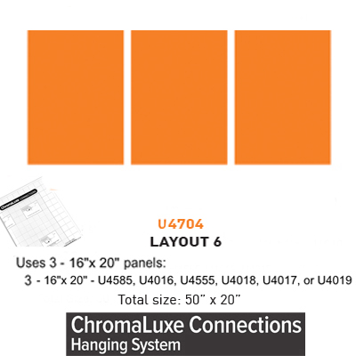 ChromaLuxe Connections Layout #6 - 5 Templates