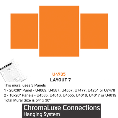 ChromaLuxe Connections Layout #7 - 5 Template